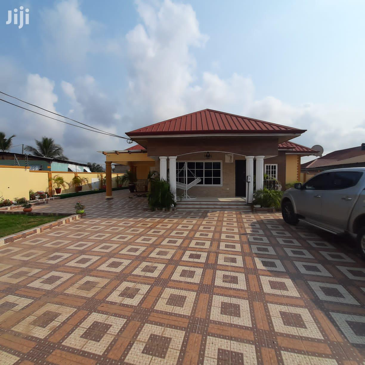 Four Bedroom House For Sale At Pokuase