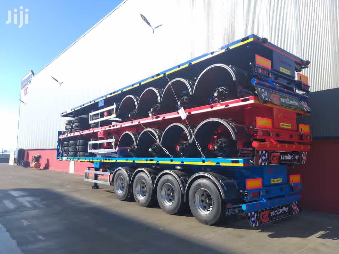 4 Axles GT Flatbed Semi Trailers for Sale | Trucks & Trailers for sale in Ga West Municipal, Greater Accra, Ghana
