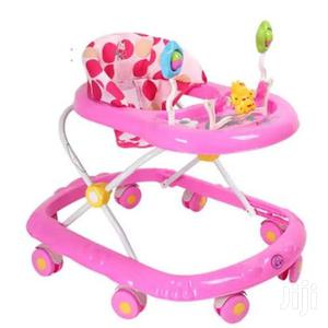 Adjustable Baby Walker – Pink/Multicolour   Children's Gear & Safety for sale in Greater Accra, East Legon