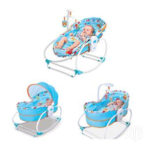 Baby Rocker Bassinet – 5 In 1 – Blue/Grey | Children's Furniture for sale in Greater Accra, East Legon