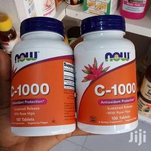 NOW Vitamin C 1000mg Capsules | Vitamins & Supplements for sale in Greater Accra, Osu