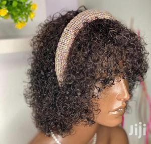 Water Curls With Fringe | Hair Beauty for sale in Greater Accra, Osu