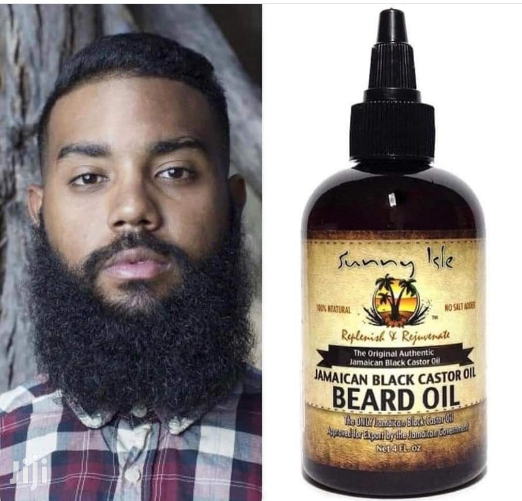 Original Jamaican Black Castor Oil For Beard