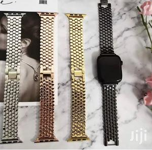P1 Stainless Steel Strap/Band for Apple Watch Series 1 to 6 | Smart Watches & Trackers for sale in Dworwulu, Nyaho Medical Centre