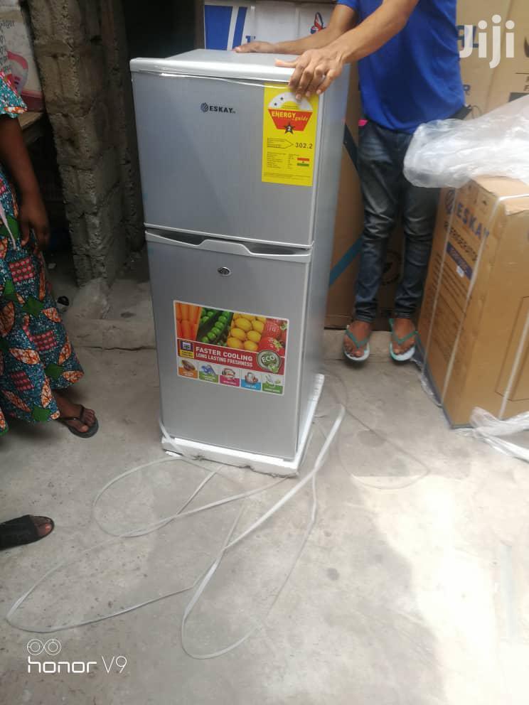 ESKAY 132L Double Door Refrigerator   Kitchen Appliances for sale in Accra Metropolitan, Greater Accra, Ghana