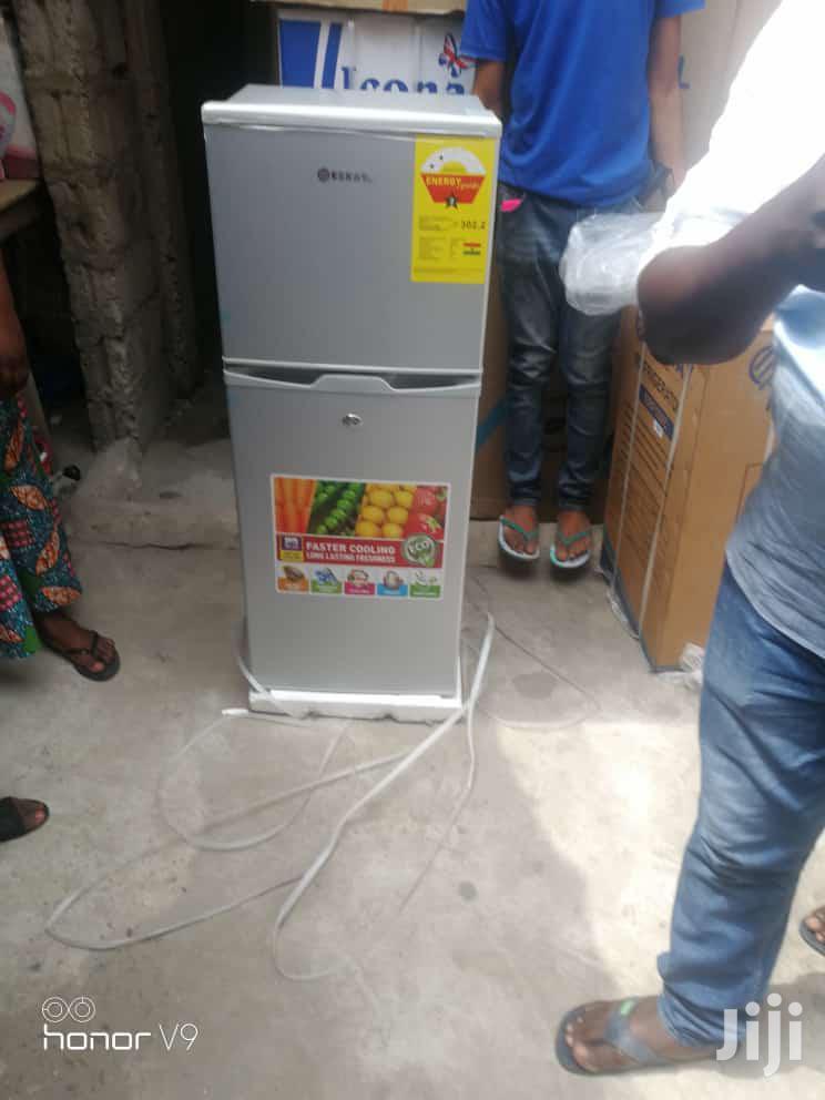 ESKAY 132L Double Door Refrigerator