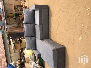 Order for a Brand New Gray Colour L- Shaped Sofa Chair | Furniture for sale in Greater Accra, Adabraka