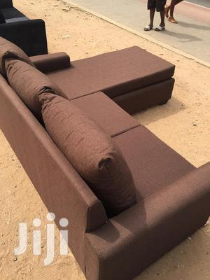 Durable Quality Made L Shaped Sofa Couch | Furniture for sale in Greater Accra, Adabraka