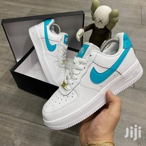 Nike Air Force 1 Low White and Blue | Shoes for sale in Kaneshie, North Kaneshie