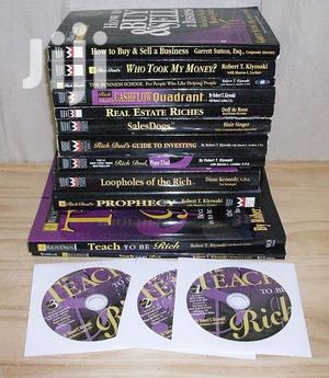 Rich Dad Poor Dad Books on Business Life and Investing   Books & Games for sale in Greater Accra, Airport Residential Area