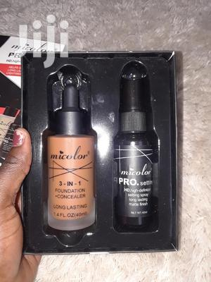 2 in 1; Foundation and Fixing Spray at Prostylers | Makeup for sale in Ashanti, Kumasi Metropolitan