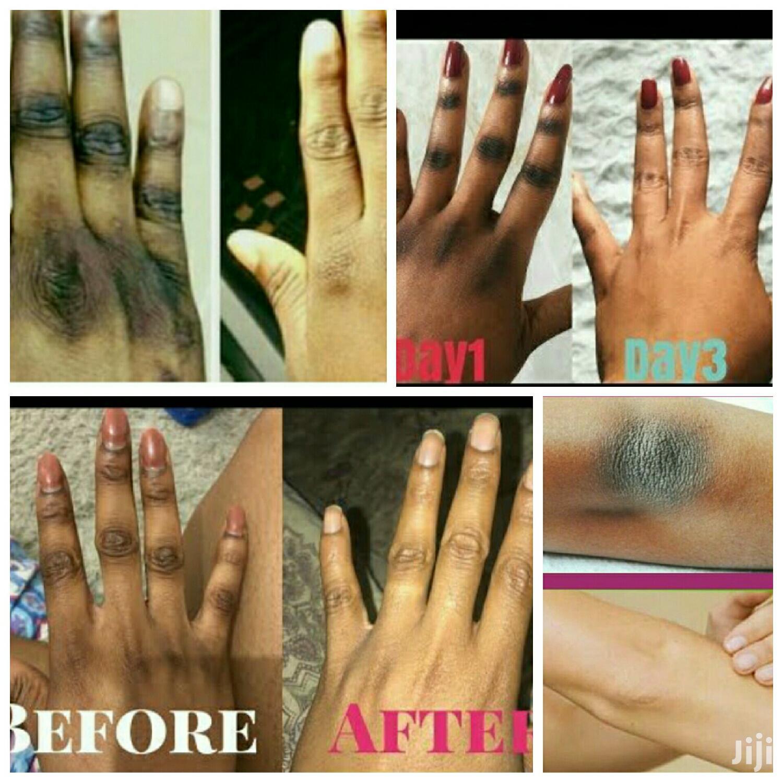 Dark Knuckle Remover Oil and Scrub