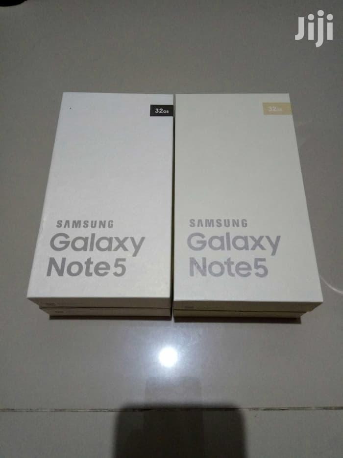 Archive: Fresh Samsung Galaxy Note 5 Black 32 GB