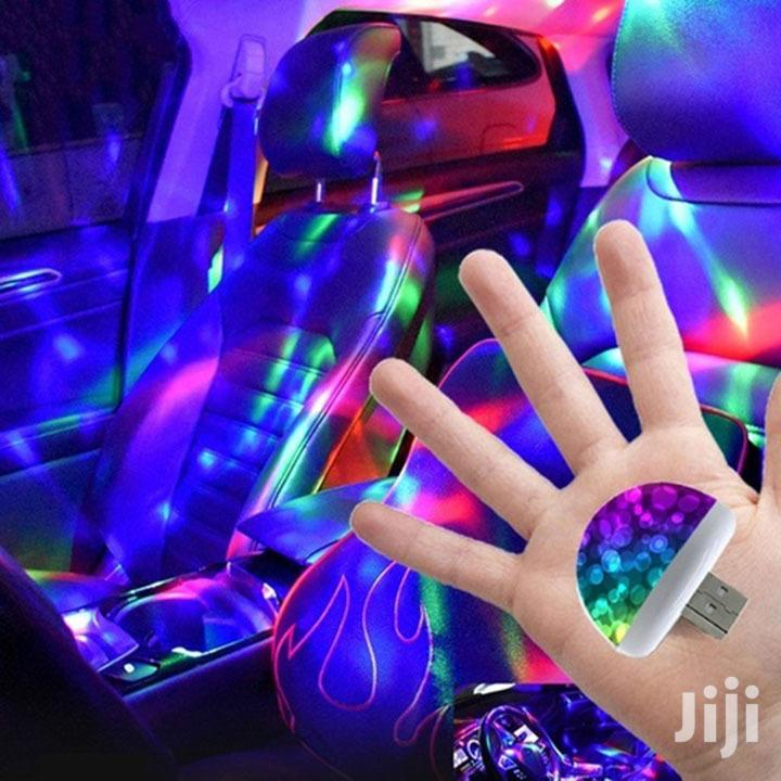 Color USB LED Car Interior Lighting Kit