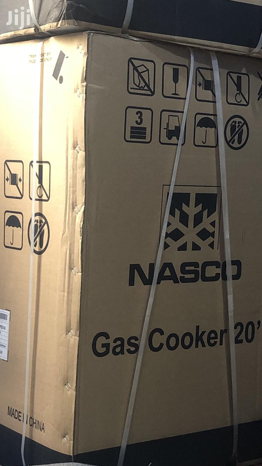 Nasco 4 Burner Gas Cooker Oven Grill Powerful