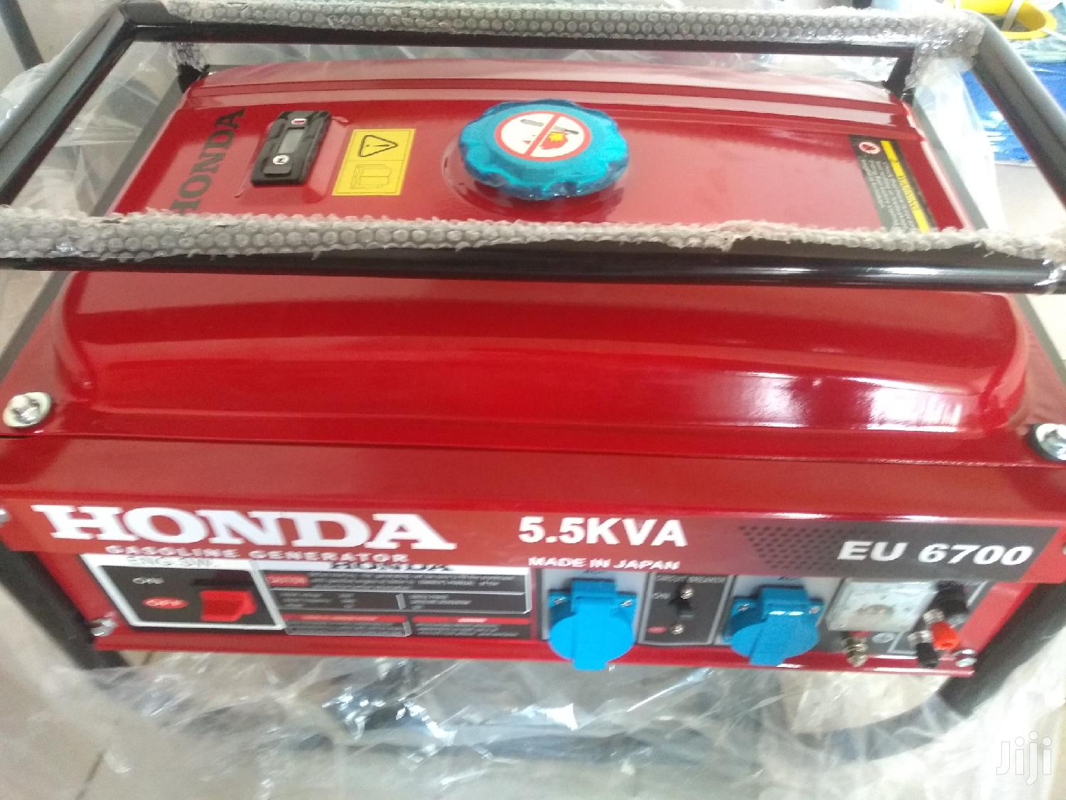 Latest# Honda 5.5kva Japan at Quality Generators | Electrical Equipment for sale in Accra Metropolitan, Greater Accra, Ghana