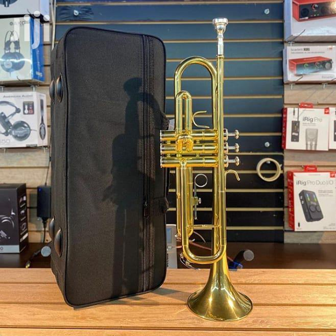 Olympic Gold/Silver Trumpet With Case, Cloth, Oil and Gloves | Musical Instruments & Gear for sale in Accra Metropolitan, Greater Accra, Ghana