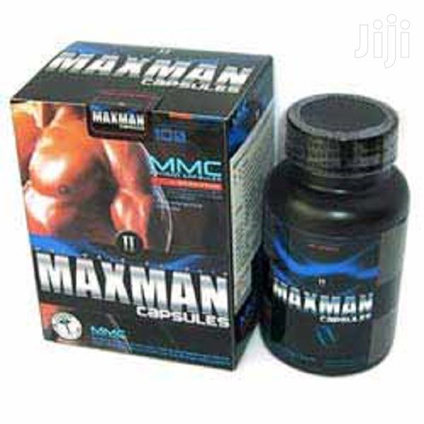 Maxman II Herbal Supplement/Capsules