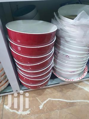 Beautiful Red Ceramic Fufu Bowls | Kitchen & Dining for sale in Greater Accra, Accra Metropolitan