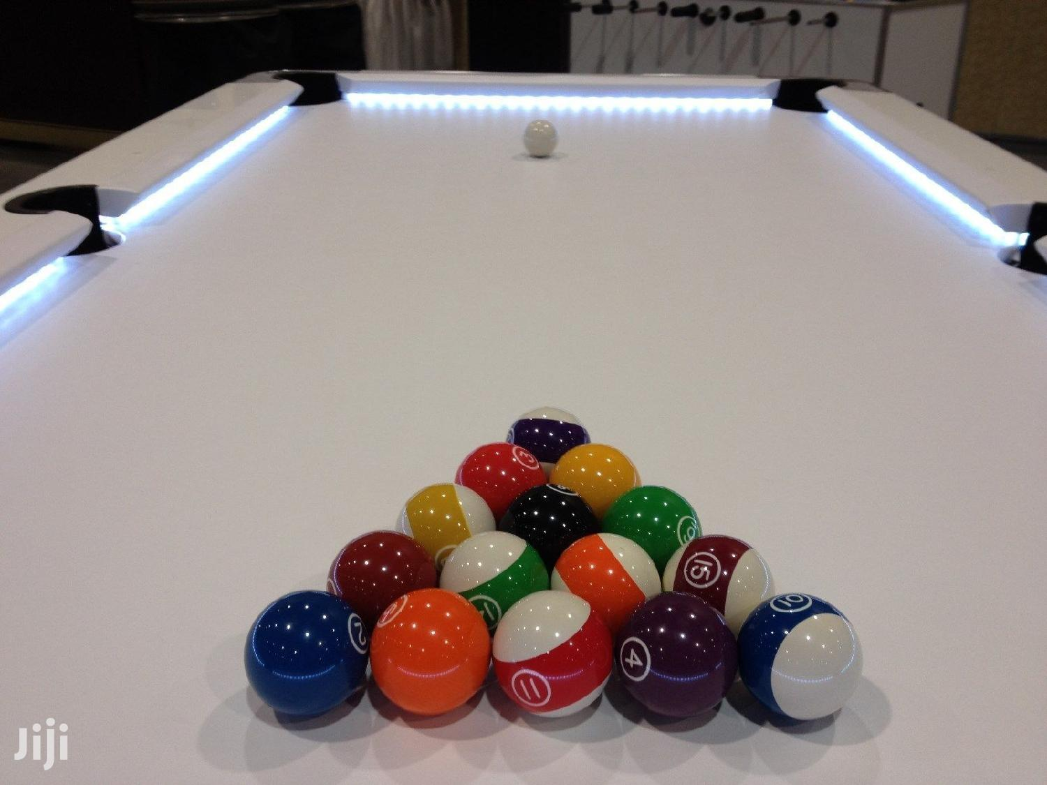 New Coin Operated and Electronic Pool Tables