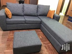 L Sofa With Cute Center Table | Furniture for sale in Volta Region, Ho Municipal
