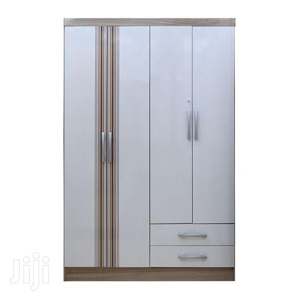 Wooden Wardrobe 4 Doors 2 Drawers | Furniture for sale in Adenta Municipal, Greater Accra, Ghana