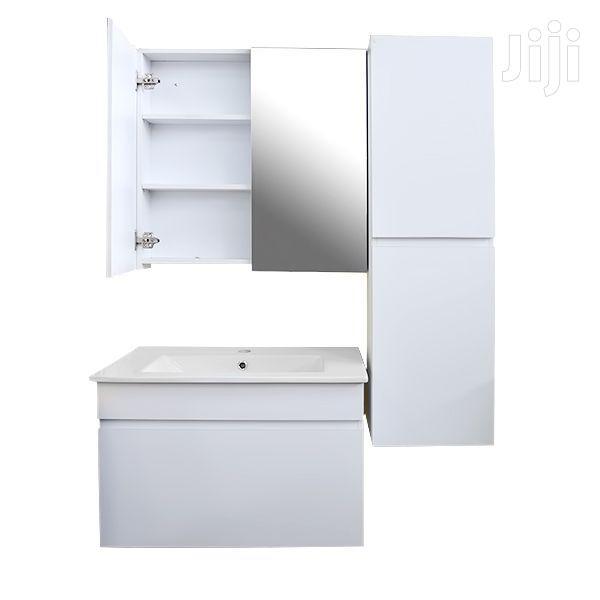 Bathroom Cabinet Set White