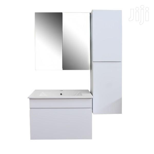 Bathroom Cabinet Set White   Furniture for sale in Adenta Municipal, Greater Accra, Ghana