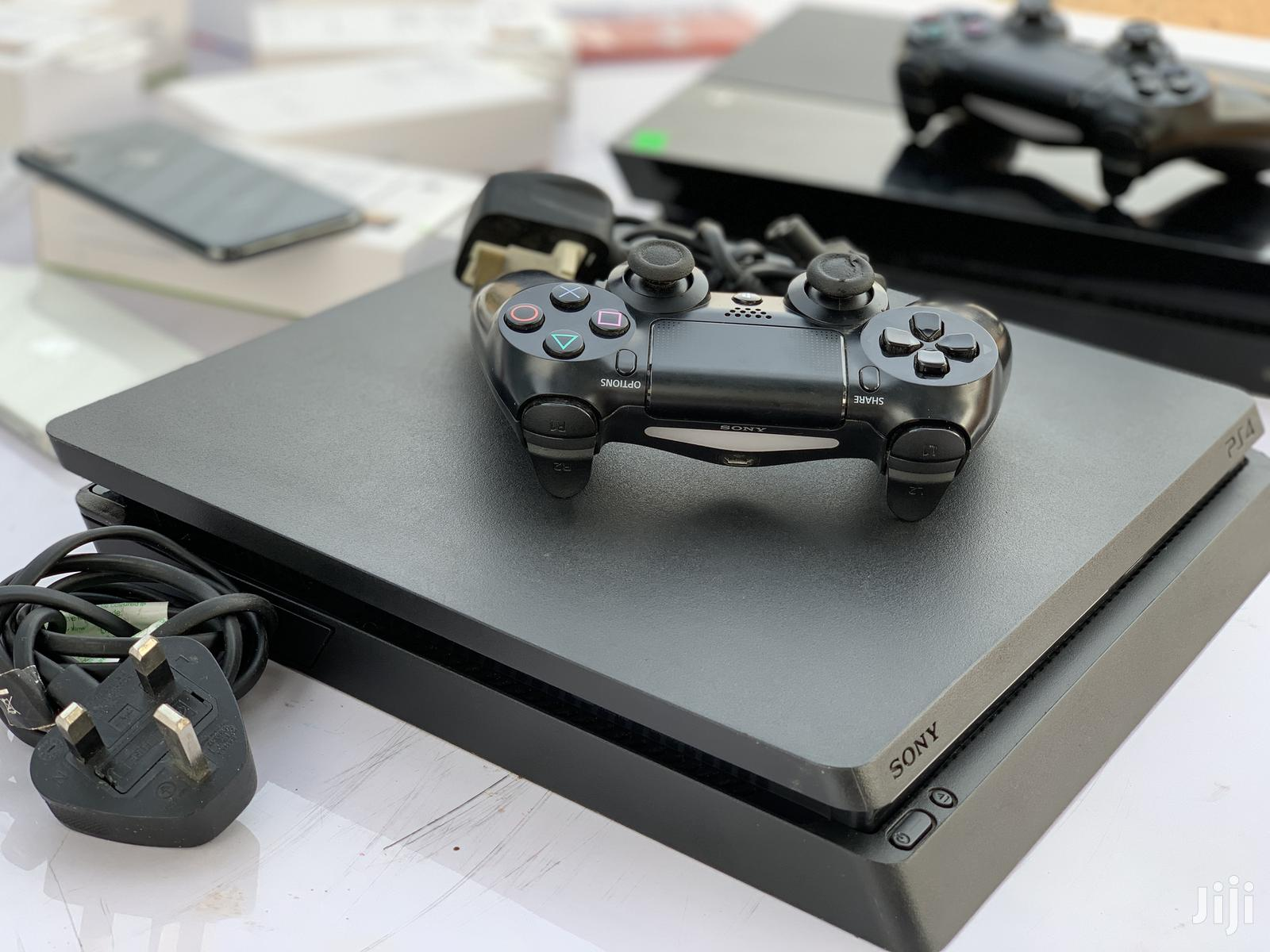 Sony Playstation 4 Slim Black   Video Game Consoles for sale in Achimota, Greater Accra, Ghana