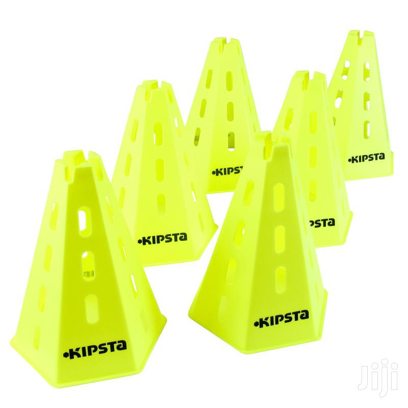 Sports Training CONES X 6 - YELLOW