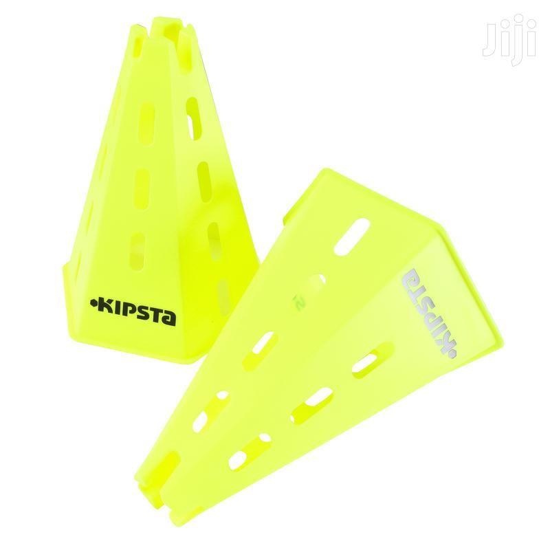 Sports Training CONES X 6 - YELLOW | Fitness & Personal Training Services for sale in Achimota, Greater Accra, Ghana