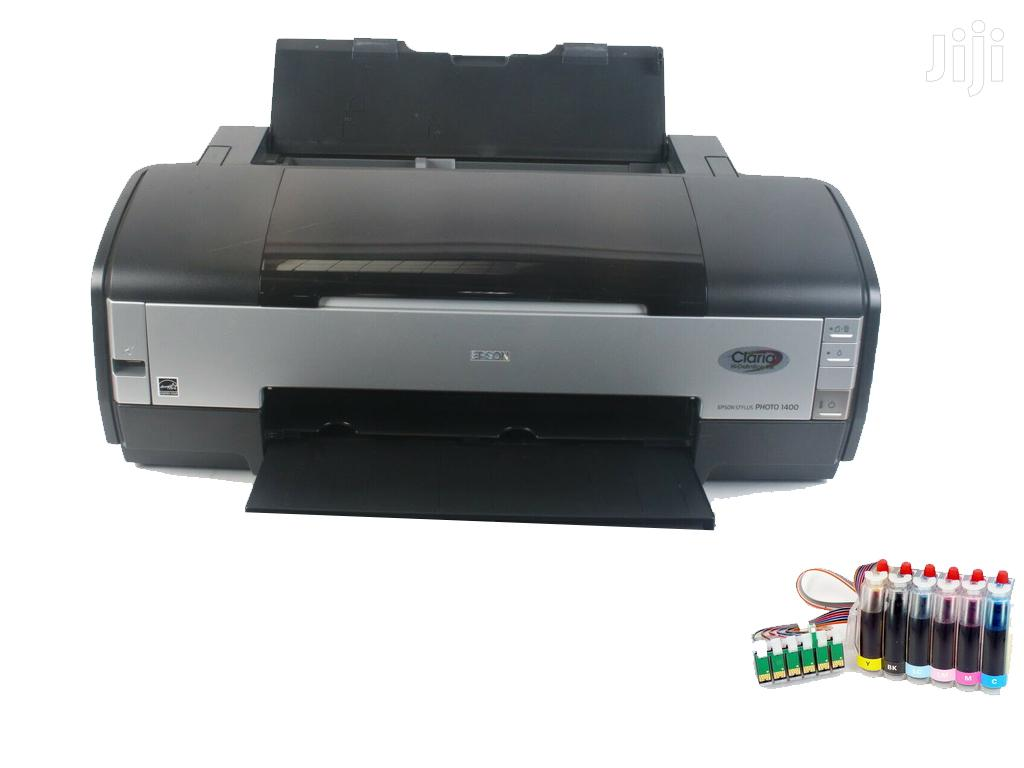 Archive: Epson Stylus Photo 1400 Digital Photo Inkjet Printer