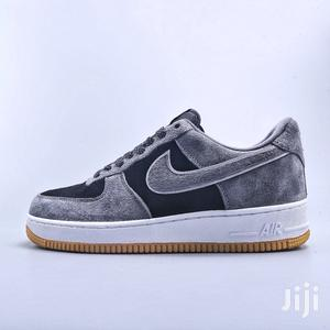 Nike Air Force 1 '07 Suede Dark Black Reflective | Shoes for sale in Greater Accra, Accra Metropolitan