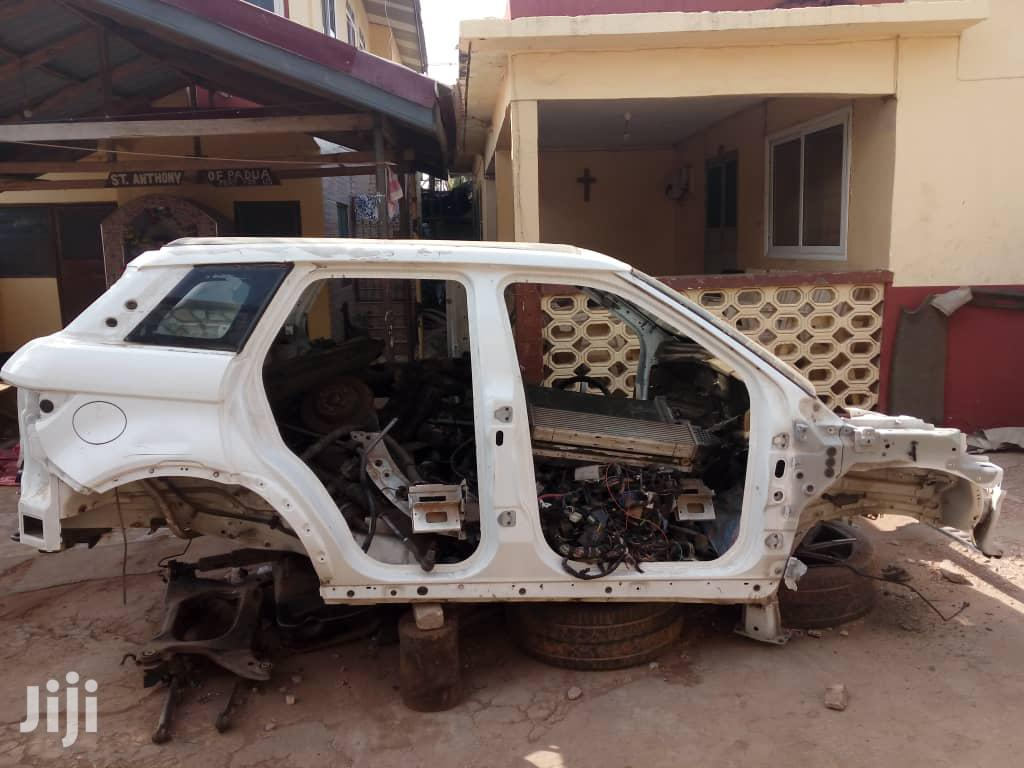 2013-2018 Range Rover Evoque Complete Empty Body | Vehicle Parts & Accessories for sale in Mataheko, Greater Accra, Ghana