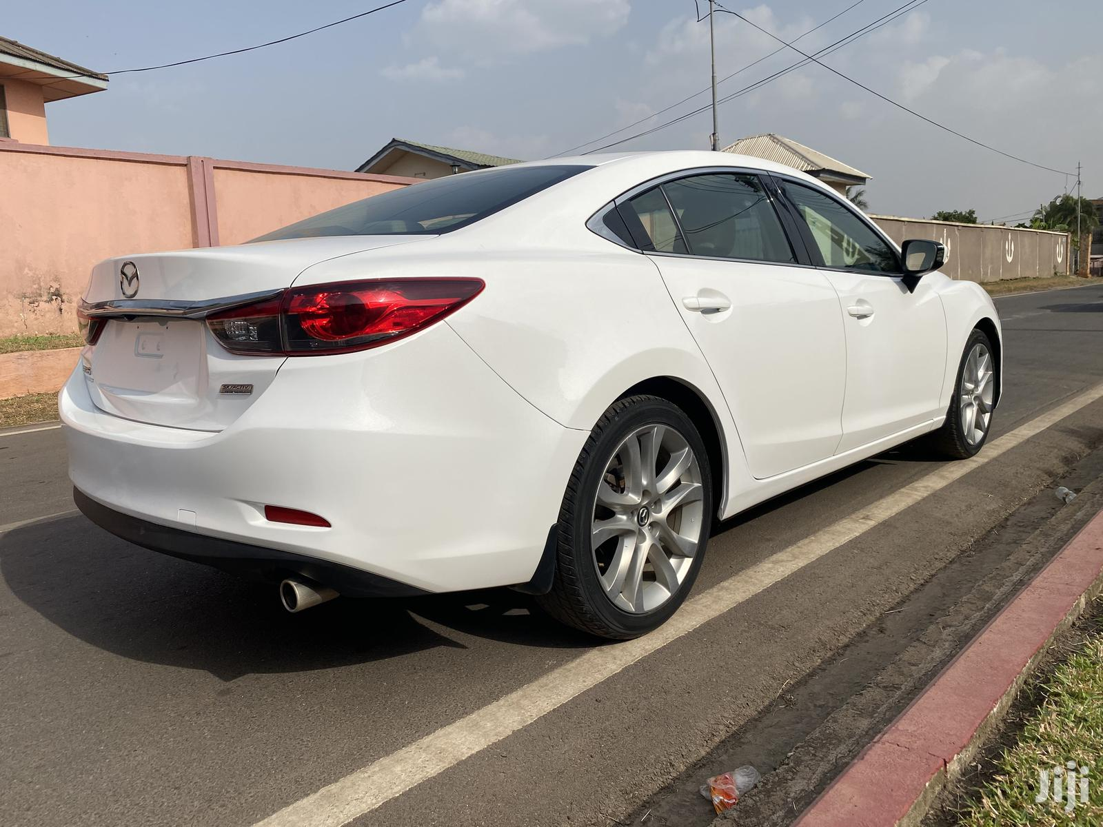 Archive: Mazda 6 2014 White