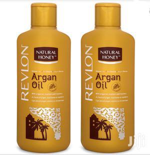 Revlon Natural Honey Shower Gel Argan Oil 650ml | Bath & Body for sale in Greater Accra, Kokomlemle