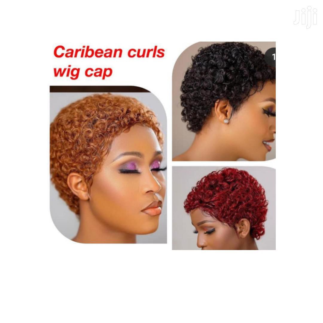 Caribean Curls Wig Cap.