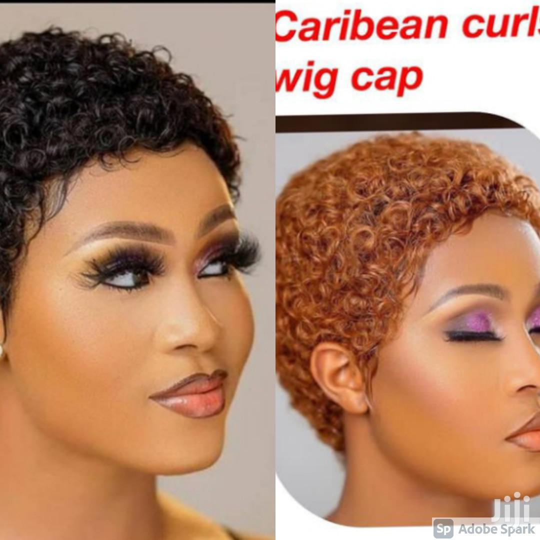 Caribean Curls Wig Cap. | Hair Beauty for sale in Accra Metropolitan, Greater Accra, Ghana
