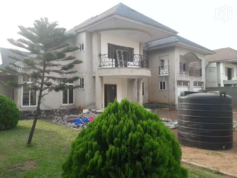 4 BEDROOMS HOUSE 1 BOYS QUARTERS FOR SALE AT EAST LEGON AMERICAN HOUSE