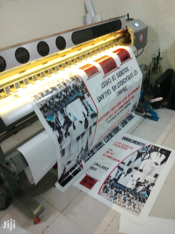 Archive: Digital Large Format Printing / Print & Cut