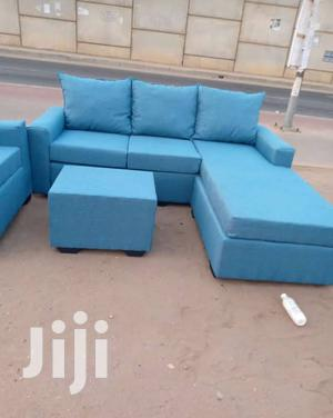 High Quality Fabric Latest L Shaped Sofa Chair | Furniture for sale in Greater Accra, Adabraka