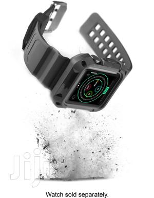 Rugged Platinum Band+Bumper for Apple Watch 38mm WERB03801 B   Smart Watches & Trackers for sale in Greater Accra, Kokomlemle