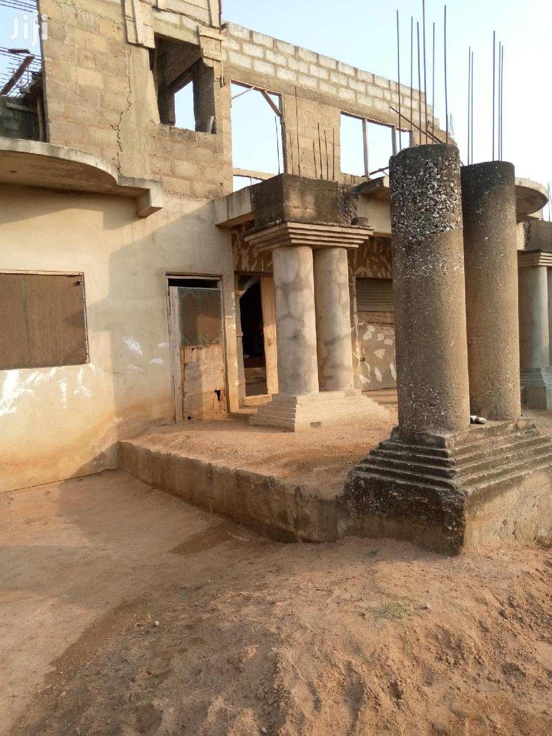 Uncompleted 6 Bedroom House At Satellite Damax For Sale