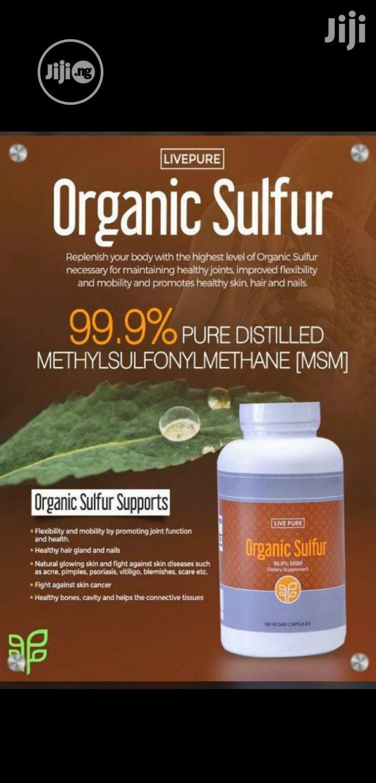 Organic Sulfur Manages Arthritis, Diabetes, Cancer