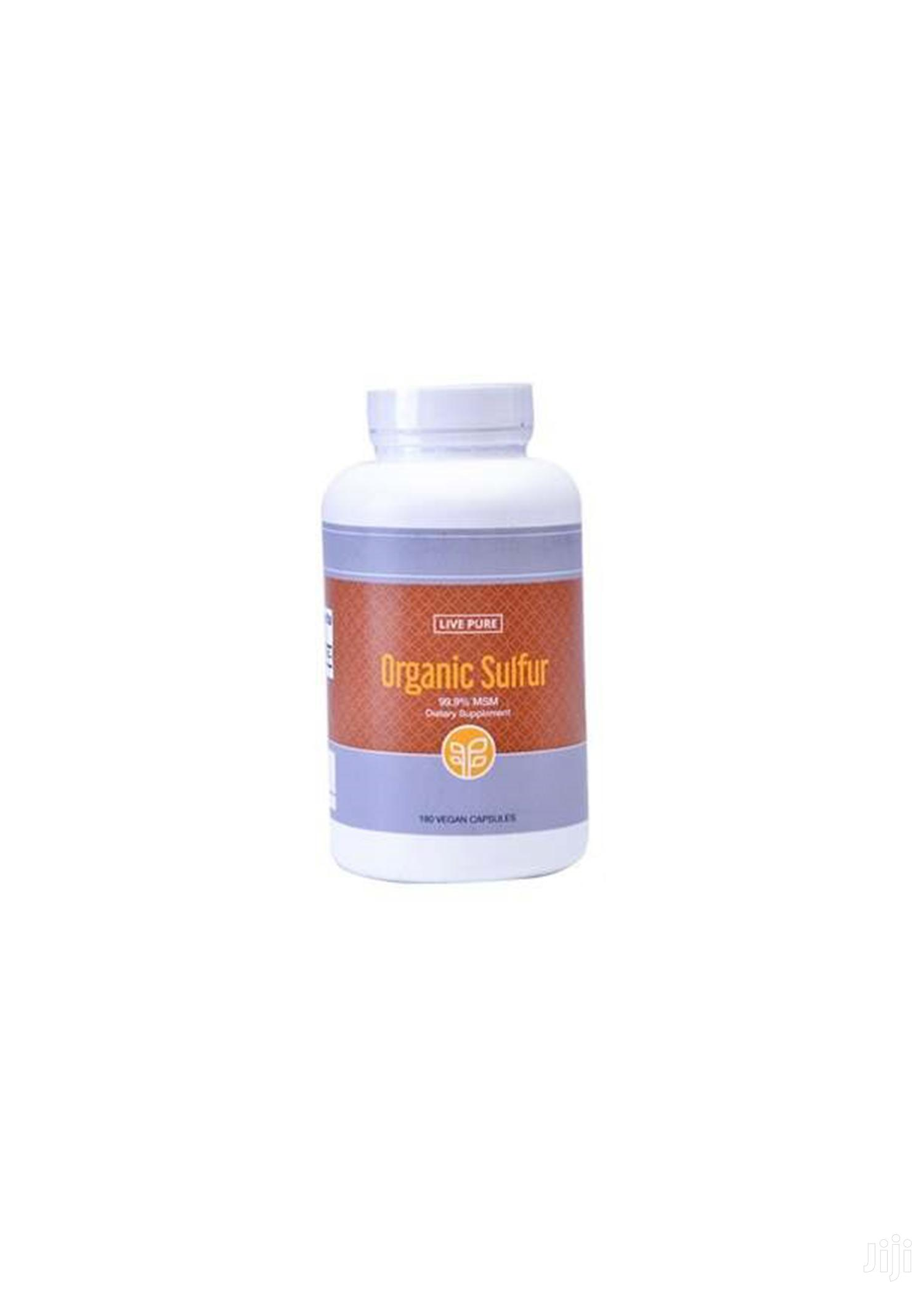 Organic Sulfur Manages Arthritis, Diabetes, Cancer | Vitamins & Supplements for sale in Nii Boi Town, Greater Accra, Ghana