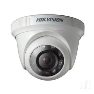 Hikvision DS-2CE56C0T-IR Indoor IR Turret Camera – 1MP White | Photo & Video Cameras for sale in Greater Accra, East Legon