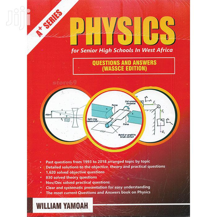 Physics Past Questions Answers - SHS