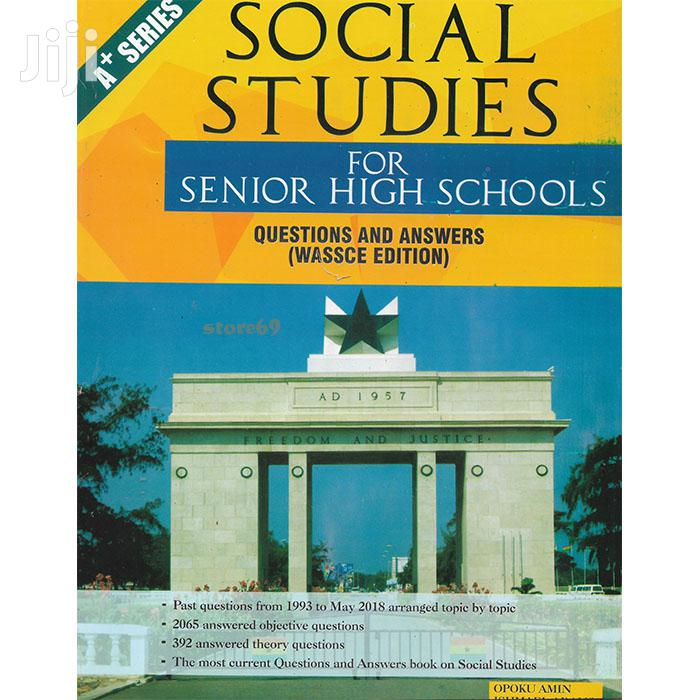 Social Studies Past Questions Answers - SHS