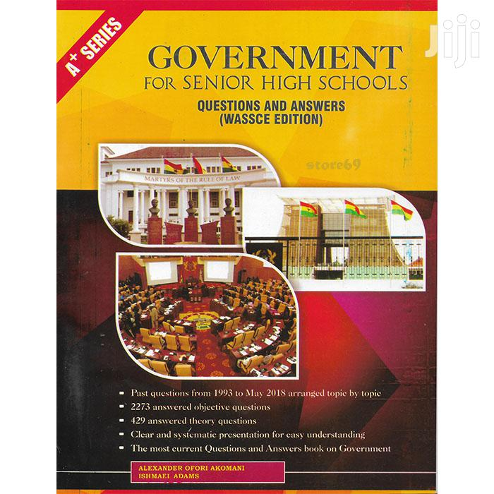 Government Past Questions Answers - SHS