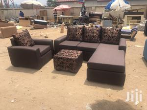 Brand New Made With Quality Material L-Shaped Sofa | Furniture for sale in Greater Accra, Adabraka